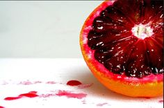 Enjoy the favorite fruit of vampires worldwide! Blood oranges aren't just incredibly tasty, they also have many health benefits such as antioxidant action, vitamin C, vitamin A and calcium. Not everyone knows what a blood orange is, so when you show people one, they may actually think that it's a normal orange infected with some kind of virus.