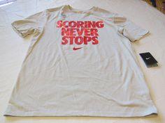 Nike Mens The Nike Tee Athletic cut XXL 689090 grey 047 Dri Fit basketball shirt #Nike #Tshirt