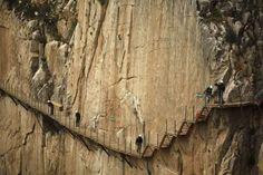 Caminito del Rey: Siente el vértigo de caminar por el sendero más peligroso del mundo (FOTOS) | The Huffington Post