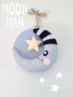 Custom Handmade Moon And Star Nusery/Home Decoration on Etsy, £25.00