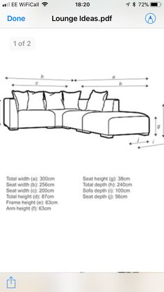 Lounge Ideas, Diagram, Sofa, Math Equations, Living Room Ideas, Settee, Couch, Couches