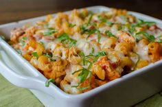 Chicken Parmesan Baked Pasta mmm may have to try this next time I cook ...