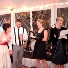 Tips & advice on how to write the perfect wedding toast, including a REAL best man's toast that is a MUST READ!