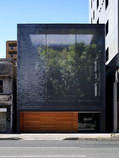 Casa de vidro óptico