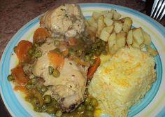 Pollo Arvejado Low Carb Recipes, Cooking Recipes, Healthy Recipes, Chilean Recipes, Chilean Food, Diy Food, Food Ideas, Kitchen Recipes, Turkey Recipes
