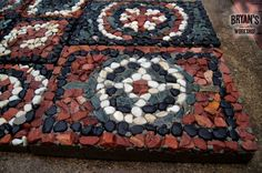 How To Make Mosaic Rock Pavers for Your Garden
