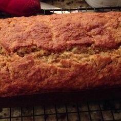 Banana, carrot coconut bread!