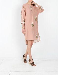 Creatures of Comfort Margaritte Dress- Flora Pink Boho Style, Style Me, Cactus Print, Shirt Dress, Blouse, Boho Fashion, Casual Dresses, Floral Prints, Cold Shoulder Dress