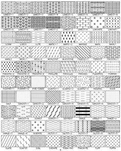 Hatching Patterns