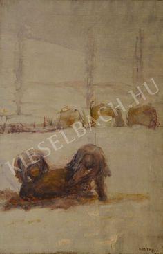 Pig-Sticking - Lajos Kunffy