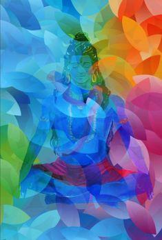 Lord Shiva as adiyogi in colorful Holi wallpaper in creative art painting Shiva Art, Krishna Art, Hindu Deities, Hinduism, Lord Shiva Hd Wallpaper, Lord Shiva Painting, Nataraja, Indian Gods, Yoga For Men