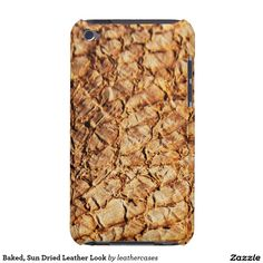Baked, Sun Dried Leather Look Barely There iPod Covers