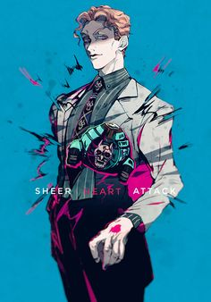 "[Jojo's Bizarre Adventure] ""JOJO LOG"" / Illustration by ""Stardust"" [pixiv] Jojo's Bizarre Adventure, Bizarre Art, Jojo Bizarre, Yoshikage Kira, Vocaloid, Jojo Parts, Jojo Memes, Killer Queen, Animes Wallpapers"