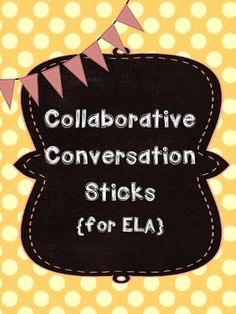 Do you want your students to have deeper, and more meaningful conversations? I created this product to help my students master the CCSS for both Speaking & Listening which state that students need to be able to: engage effectively in a range of collaborative discussions with diverse partners on grade-level topics and texts, building on others ideas and expressing their own clearly.These 30 Sentence Stem sticks will provide your students with sentence stems to help them be active…
