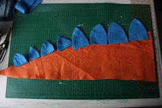 HUNGRYHIPPIE: Dinosaur Tails. A sewing tutorial.