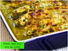 Kip met pesto uit de oven - Lekker en Simpel