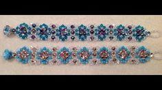 Gina's Gem Creations - Quilted Crystal Bracelet