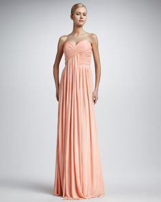 Not sure about the part at the bust that kind of hangs by itself but I do love the color and the chiffon