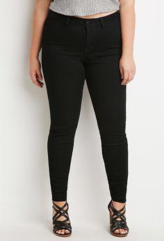 Skinny Jeans (Regular) | Forever 21 PLUS - 2000056807