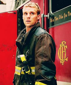 Jesse Spencer as Lt. Casey from Chicago Fire.. I'm obsessed..
