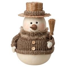 Found it at Wayfair - Holiday Ted Snowman in Beige