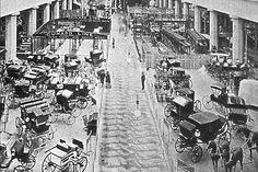 Interior of Transportation Building, Chicago World's Fair 1893
