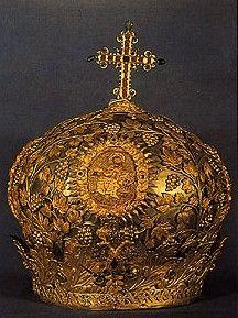 Crown of Emperor Nicephorus Phocas, Byzantium (10th c.; gold).
