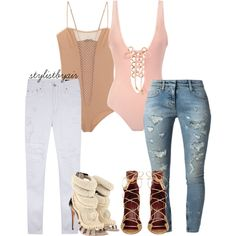 Untitled #2544 by stylistbyair on Polyvore featuring polyvore fashion style RES Denim Faith Connexion Isabel Marant Pacifica Giuseppe Zanotti