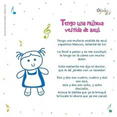Right here a variety of my absolute best secrets. Teaching a language can be fascinating and remarkable. #learnspanishsongs Preschool Poems, Preschool Spanish, Teaching Spanish, Teaching Kids, Spanish Help, Spanish Lessons For Kids, Spanish Songs, Spanish Class, Baby Lyrics