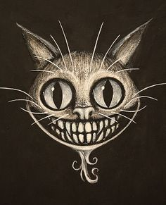 Cheshire Cat Floating Head www.kevineslinger.com