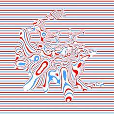 E R I K B L A D Matchbox Art, New Media, Neon Signs, Animation, Distortion, Illustration, Inspiration, Graphics, Abstract