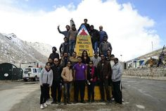 Ladakh on Wheels participants from 2014. We drive again in 2015.. come join us