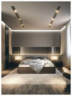 31 elegant and modern master bedroom design ideas 00039 Modern Luxury Bedroom, Luxury Bedroom Design, Room Design Bedroom, Bedroom Furniture Design, Home Room Design, Luxurious Bedrooms, Home Decor Bedroom, Home Interior Design, Modern Bedrooms