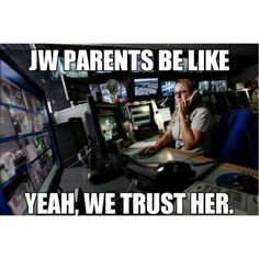 So true! I never gave my parents the risk to worry, but I have a feeling we'll be in paradise they will still have all my passwords! This is so relatable Christian Humor, Christian Life, Bible Family Tree, Jehovah's Witnesses Humor, Jw Jokes, Parents Be Like, Jw Humor, Hilarious, Jw Funny