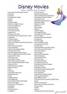 Disney Movies - Snow White and the Seven Dwarfs, Pinocchio, Disney Original Movies List, Disney Movies To Watch, Disney Movie Quotes, Best Disney Movies, Good Movies, Walt Disney Movies List, Disney Classics List, Disney Animated Movies, All Disney Channel Movies