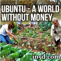 UBUNTU is based on the principle of everyone working 3 hours per week in their community. That's all! This is a VERY feasible movement that I hope everyone looks in to.
