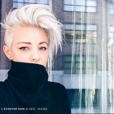 【短髮特輯】原來短髮也可以如此性感... | ÉCOUTER HAIR伊酷隄髮型