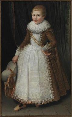 Wybrand de Geest, portrait of a boy, 1623 - Fries Museum Leeuwarden