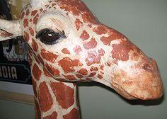 How to Make a Paper Mache Giraffe – Ultimate Paper Mache