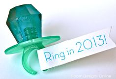 Have some pun and ring in the #NewYear with a candy ring pop!