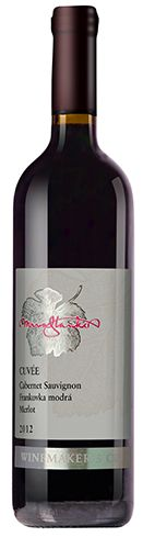 WMC Cabernet Sauvignon Frankovka modrá Merlot 2012 vinárstvo Mrva & Stanko Trnava Slovensko