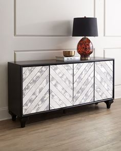 Libby+Mirrored+Console+at+Neiman+Marcus.