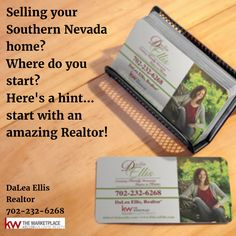 Selling your Southern Nevada home? Where do you start? Here's a hint...start with an amazing Realtor!  DaLea Ellis, Realtor Keller Williams 702-232-6268 cell  #RealEstate #Realtor #Home #buy #sell #Listing #lasvegas #KellerWilliams #kw
