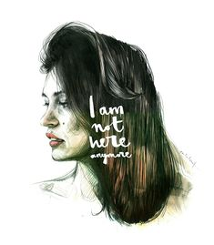 Paula Bonet Ilustration | woman | gilrs | ilustration | hair | paula | beautiful | amazing | iam | not |