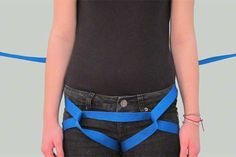Tutorial on Hasty Webbing (Emergency) Harness Tying