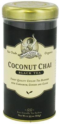 My new Favorite tea Coconut Chai Black tea!  #chai #tea #coconut