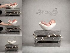 You'll love this ingenious newborn photography | BabyCentre Blog #newbornphotography