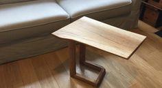 Réalisation d'une table d'appoint en chêne - Atelier Passion du Bois
