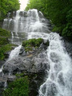 Amicalola Falls, one of my fave state parks of all time!