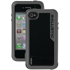 Ballistic Iphone 4 And 4s Every1 Case (black And Dark Charcoal)